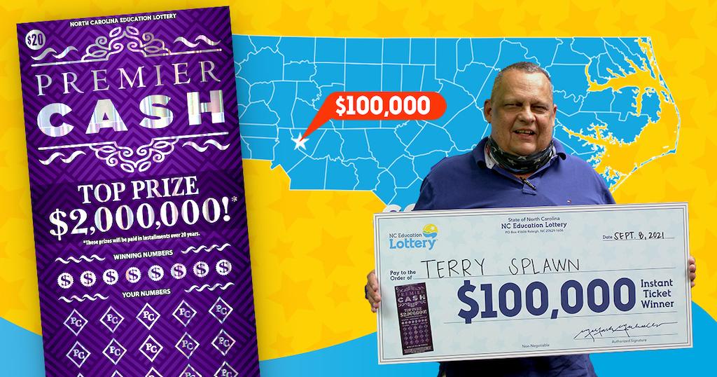 Hombre gana 3 veces premios de lotería en la misma tienda de Carolina del Norte
