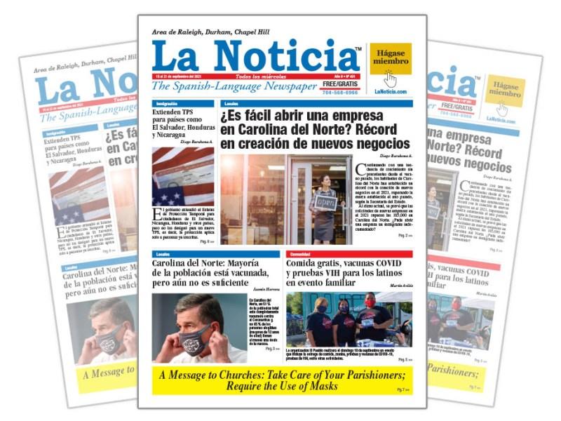La Noticia Raleigh Edición 491