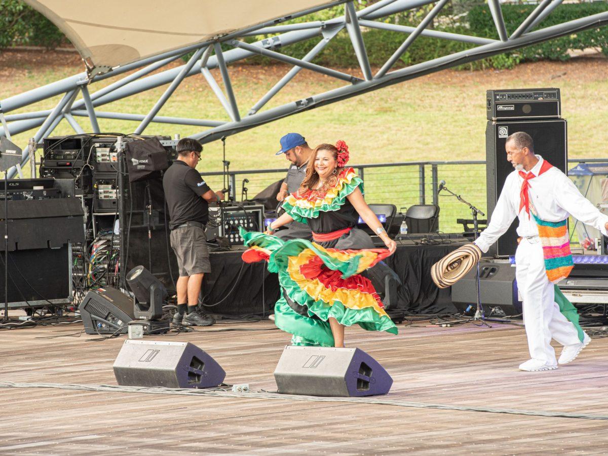 Celebran con alegría el Festival Latinoamericano (Foto: José Félix Sánchez)