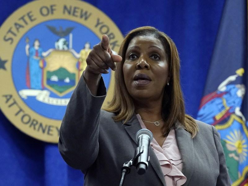 Letitia James, fiscal que investigó a Cuomo, se postulará a gobernadora