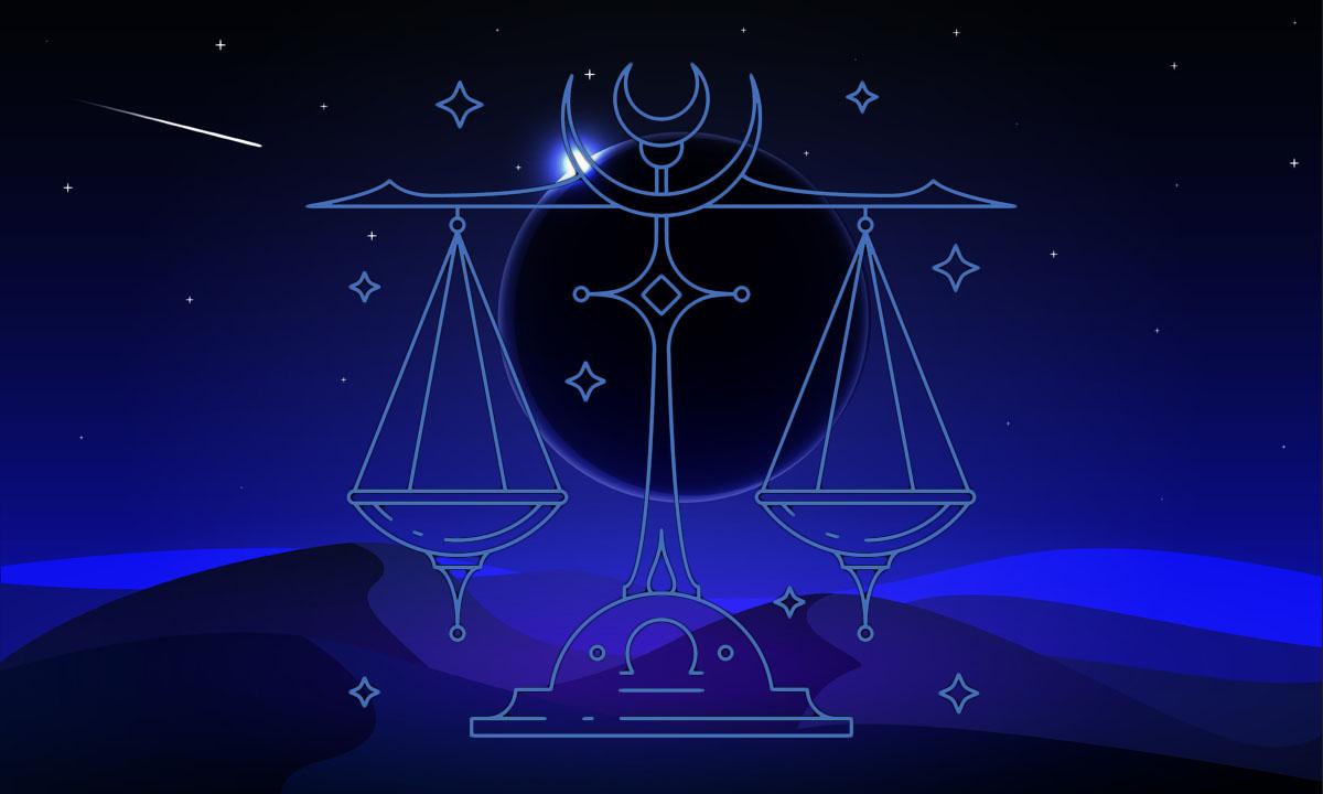 Luna nueva en Libra de octubre: energía y rituales