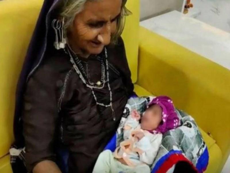 mujer da luz primer hijo 70 años