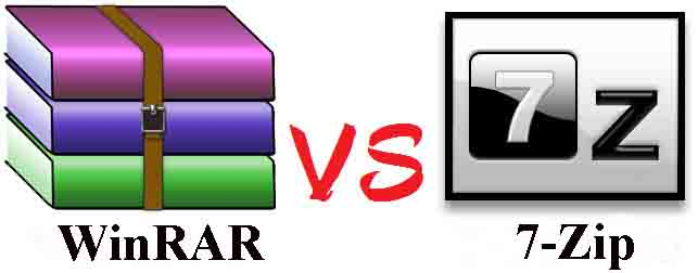 Archivers WinRar és 7-Zip