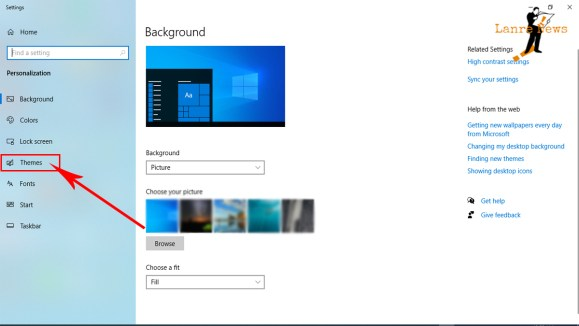 How to Change PC, Laptop Background Theme in Windows 10 | LanreNews