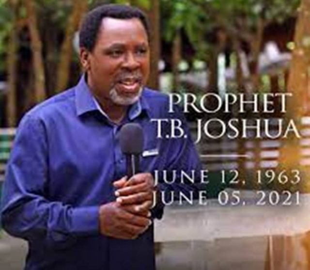 TB Joshua Dead Burial | Lanre News
