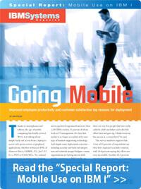 IBM Systems Magazine: Going Mobile