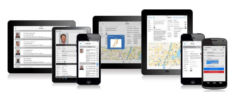 Apple iOS and Android mobile applications built with LongRange