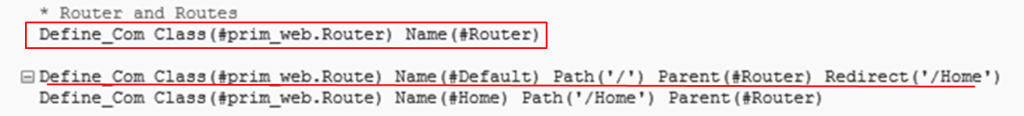 Routing EX: Auto generate