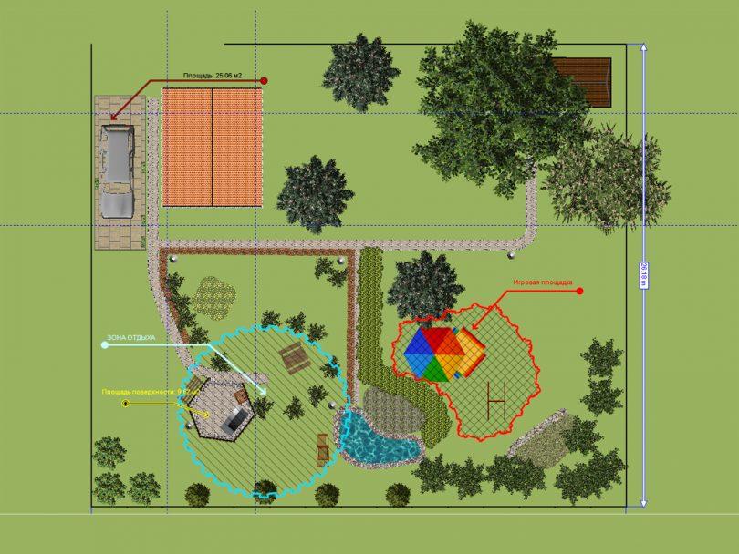 программа для дизайна земельного участка