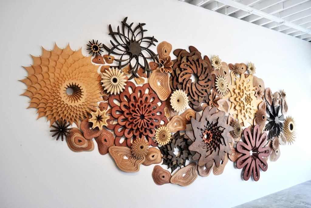Lansing Maker Faire | Laser Cut Art