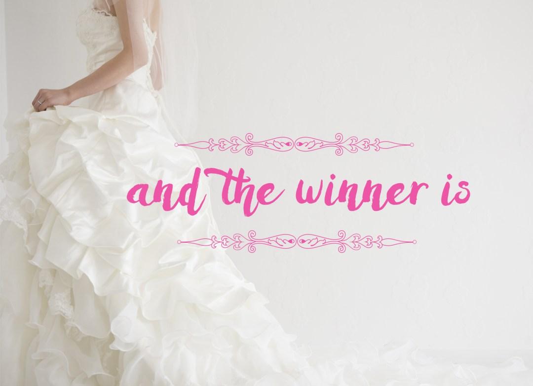 bridal show winner