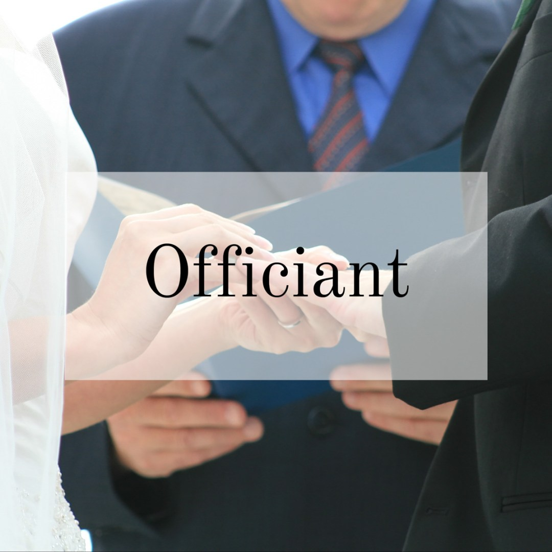 Officiant