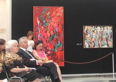 """Exposition """"André Lanskoy"""" au Musée Pouchkine de Moscou en 2006"""