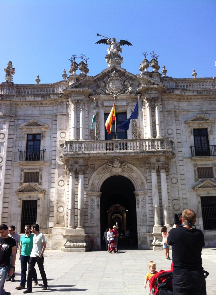 The University of Seville, the old tobacco factory.
