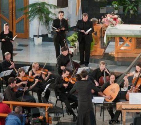 Orchestra barocă a festivalului de muzică veche din Miercurea Ciuc