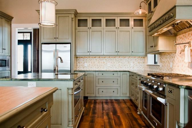 Slonaker Residence Cabinets by Lantz Custom Woodworking