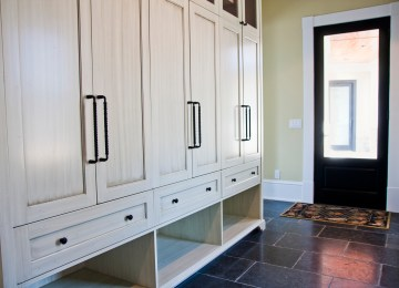 Slonaker Residence Cabinetry by Lantz Custom Woodworking