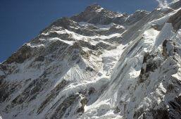 Annapurna from trail to Annapurna North base camp