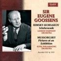 Eugene Goossens portada de vinilo