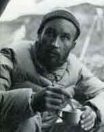 Lionel Terray at Annapurna base camp
