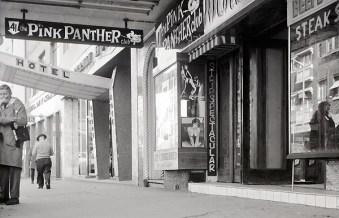 Pink Panther strip club. 1973.