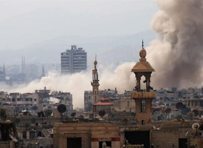 Damasco in guerra