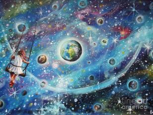 dipinto universo leggi