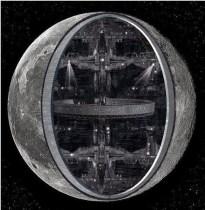 alien base inside the moon
