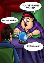 fortune teller vignetta