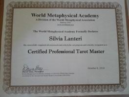 Certificato Tarocchi