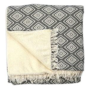 Fleece-lined Throw Pyramid