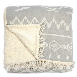 Fleece-lined Throw Atlas