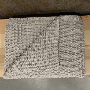 Nate Cotton Knit Throw