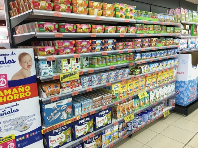 Mercadona Baby Food April 2016 dz