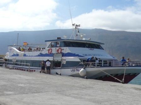 Graciosa Ferry