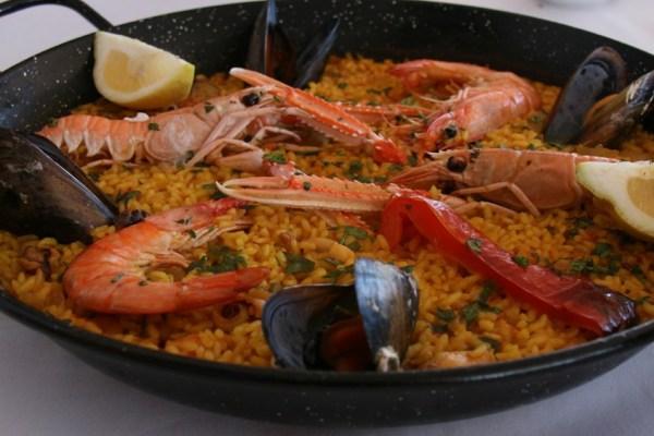 Paella in Lanzarote