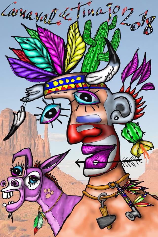Carnival Poster Tinajo 2018