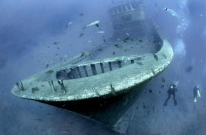 Scuba diving Lanzarote - wreck