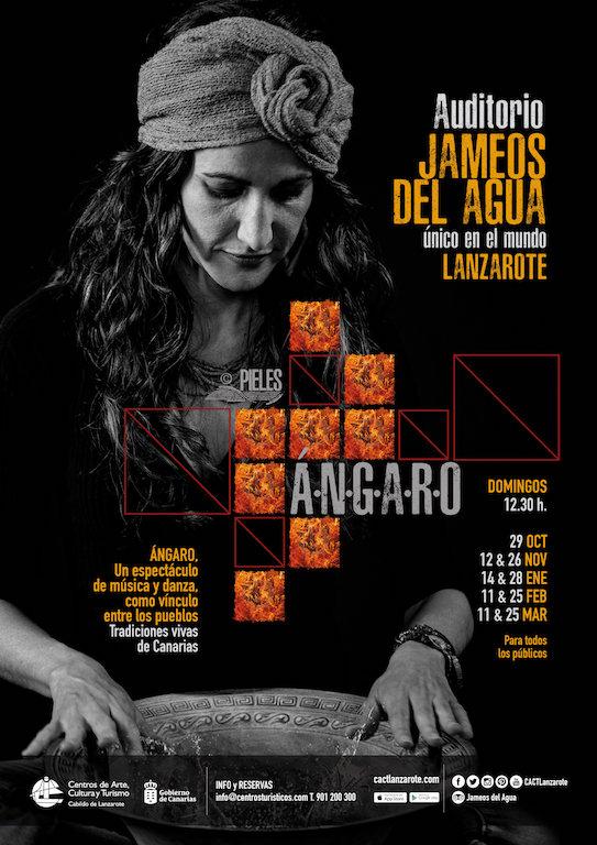 Ángaro Poster Jameos del Agua