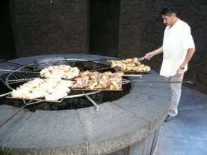 Volcanic Barbecue Chef Timanfaya