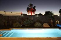 Casa Cat night pool