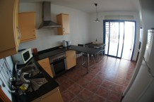 Casa Kathryn Kitchen and indoor dining table