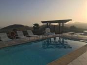 Villa Viha Pool by night
