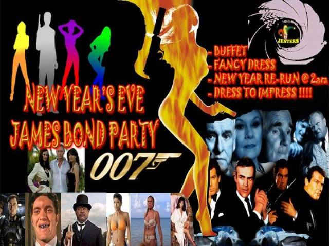 Jesters NYE James Bond Party