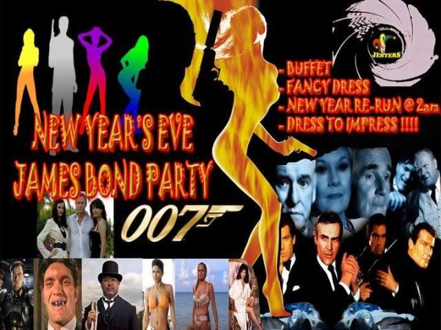 Jesters NYE James Bond Party