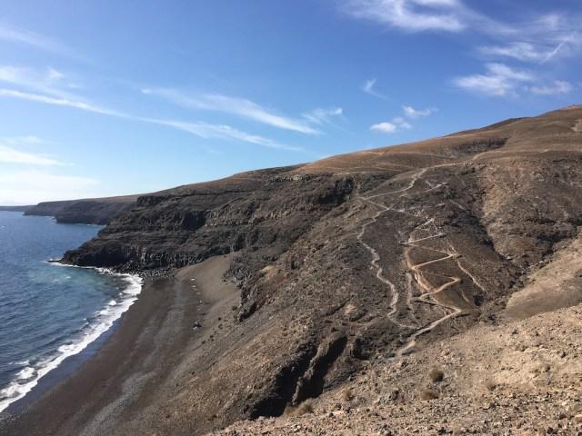 Zig Zag Path Playa Quemada