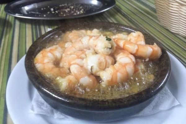 Bar El moreno Garlic Prawns