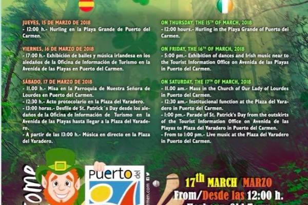 St Patricks Festival Lanzarote
