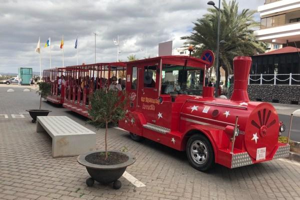 Arrecife Train Hop on Hop Off Bus Service