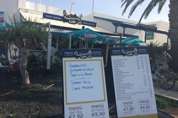 Restaurant Review, Guachinche de Luis
